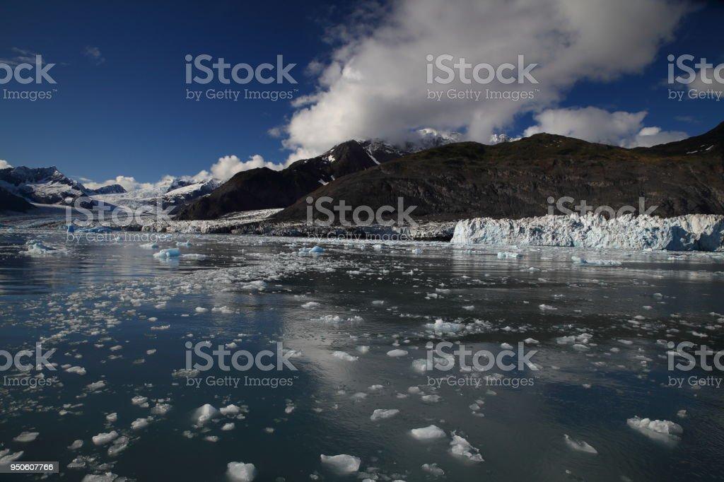 Columbia Glacier, Columbia Bay, Valdez, Alaska stock photo