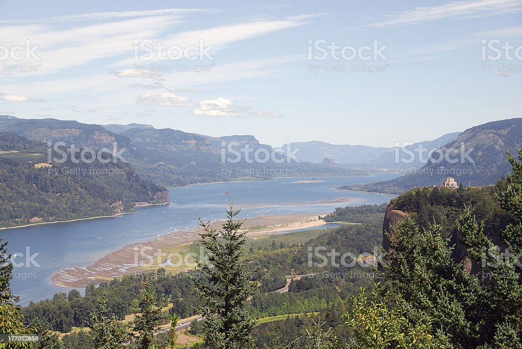 Columbia Gorge royalty-free stock photo
