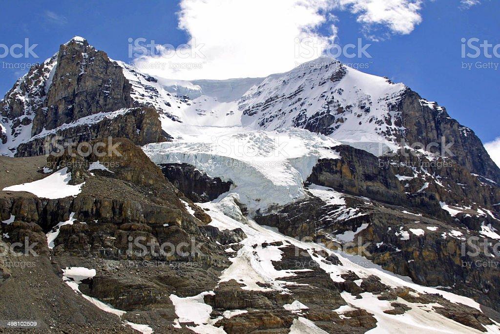 Columbia Icefield - Athabasca Glacier stock photo