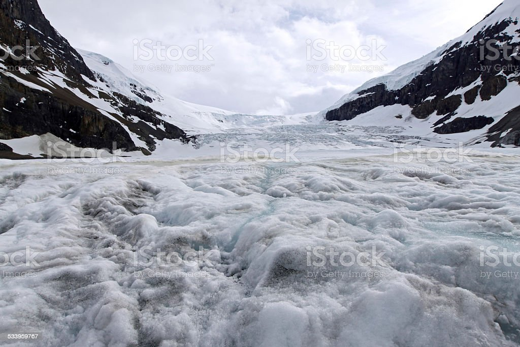Columbia Icefield stock photo