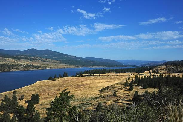 Columbia River Northwest Washington stock photo