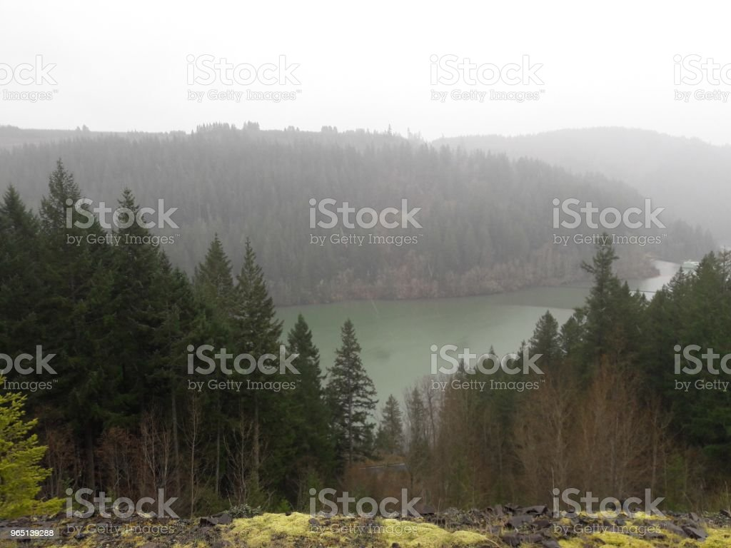 Columbia River royalty-free stock photo