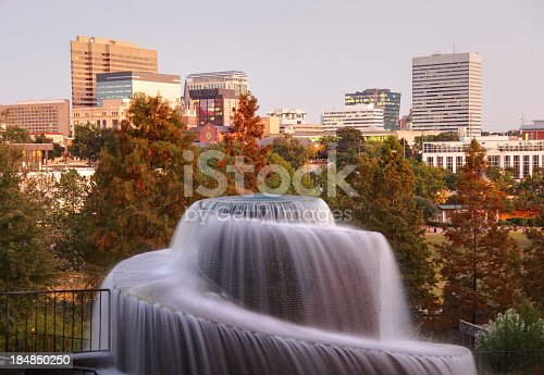 Finlay Park is the largest and most visited park in downtown Columbia, South Carolina.