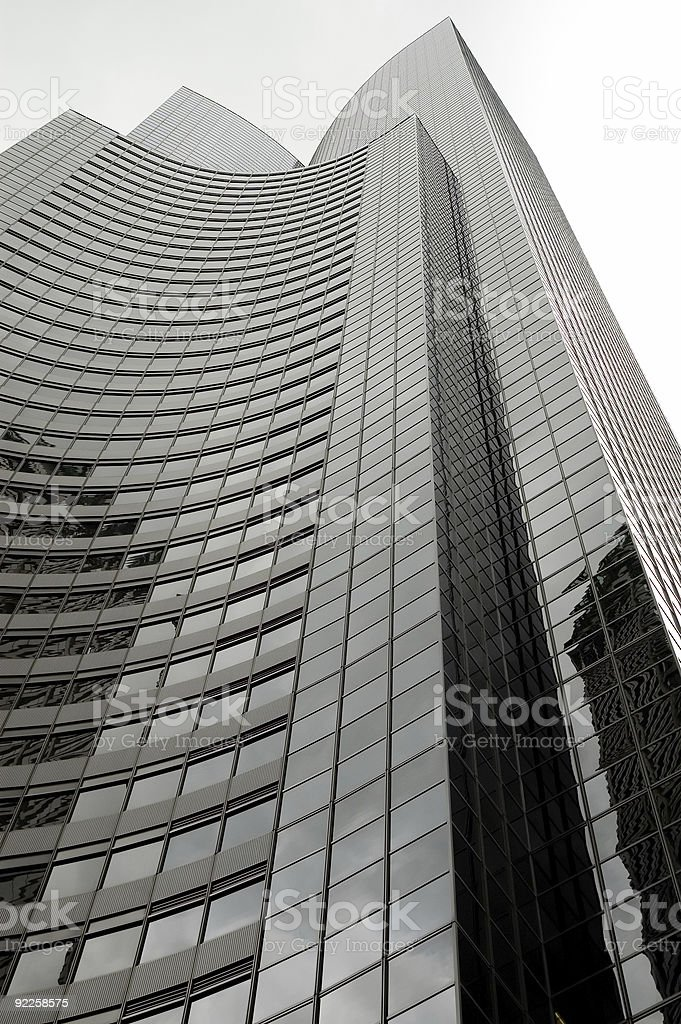 Columbia Tower - View From Below royalty-free stock photo