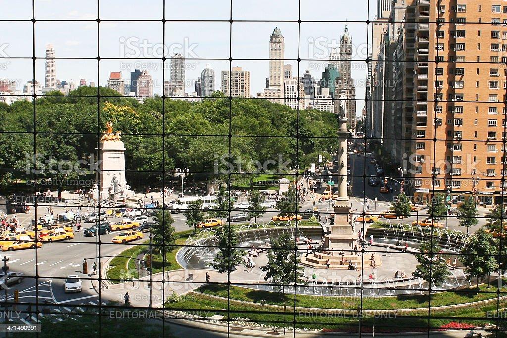 Columbus Circle NYC # 2 royalty-free stock photo
