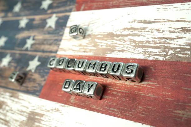 콜럼버스의 날 - columbus day 뉴스 사진 이미지