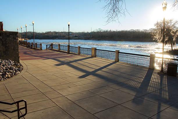 columbus ga river walk - columbus day stok fotoğraflar ve resimler