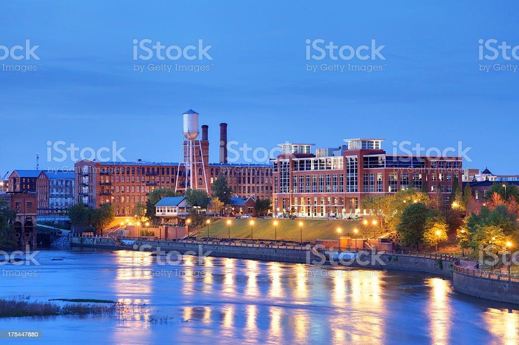 Columbus, Georgia stock photo