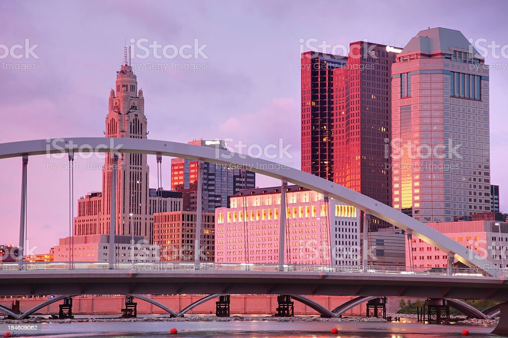 Columbus Ohio stock photo