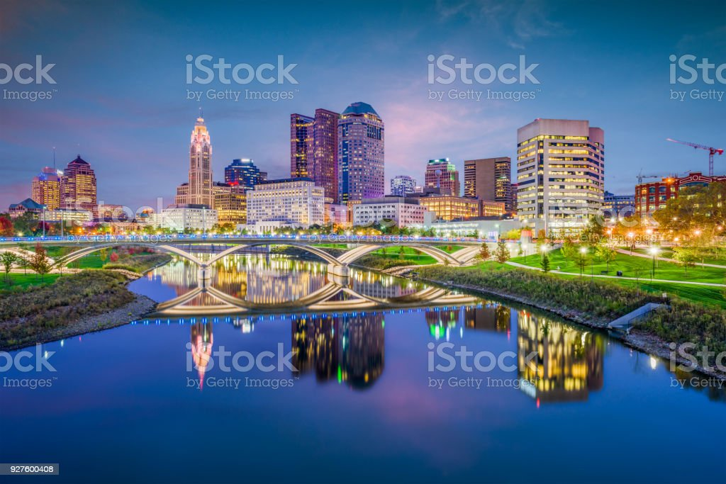 Columbus, Ohio, USA stock photo