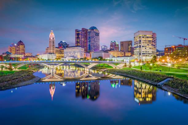 columbus, ohio, amerika birleşik devletleri - columbus day stok fotoğraflar ve resimler
