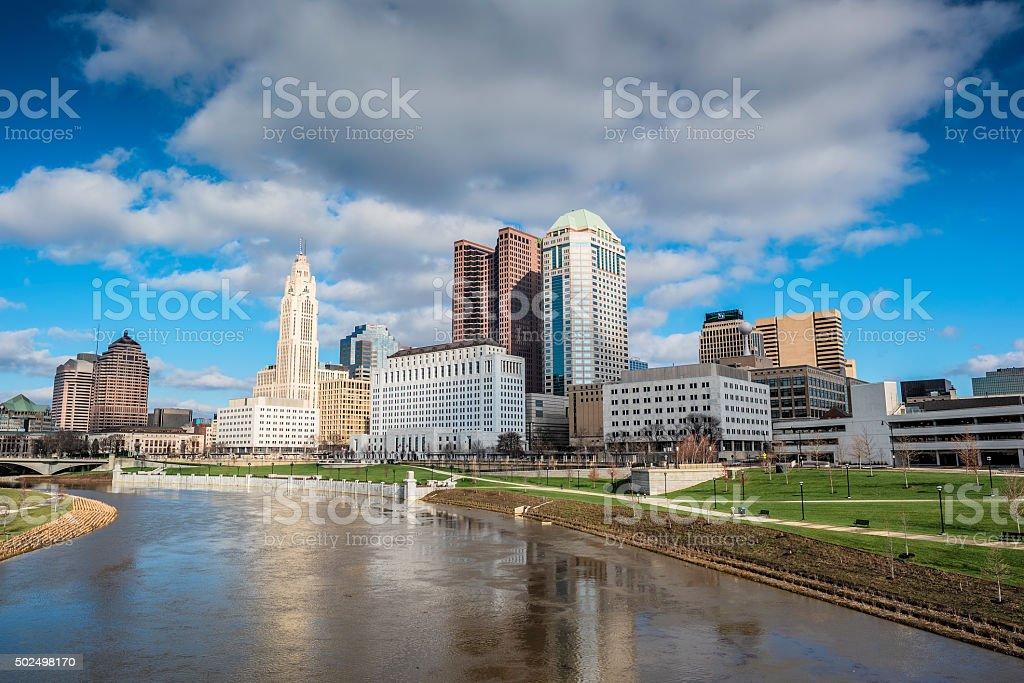 Columbus Skyline I stock photo