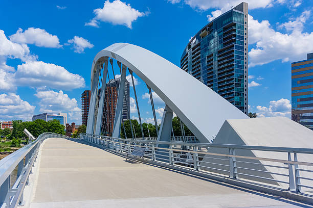 Columbus skyline, Ohio (P) stock photo