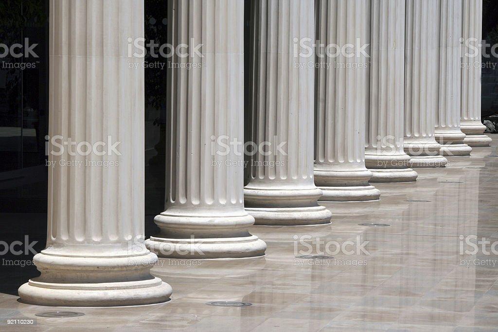 Column array stock photo