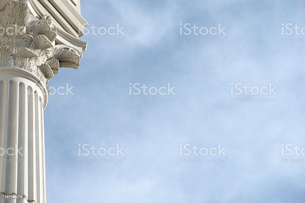 Column Blue Sky royalty-free stock photo