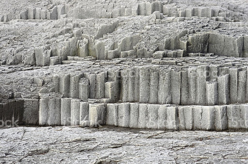 Column gray stone stock photo