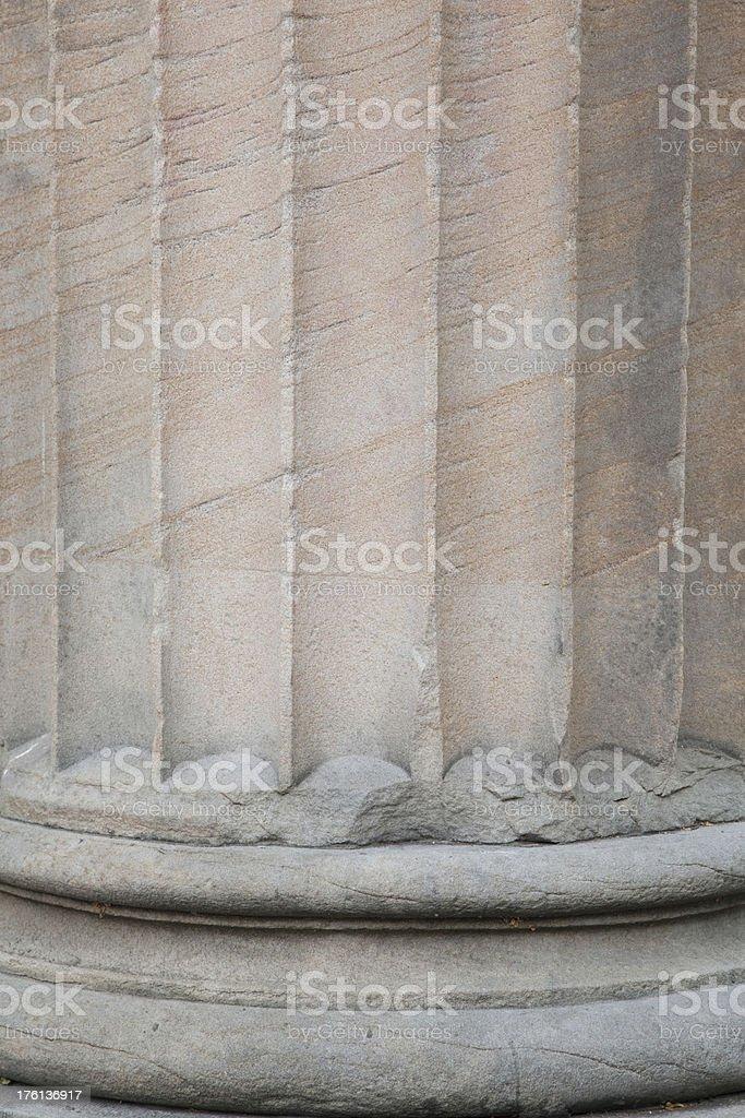 Column, Ionic, Architecture, Education, Courthouse stock photo