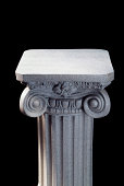 Column on Black