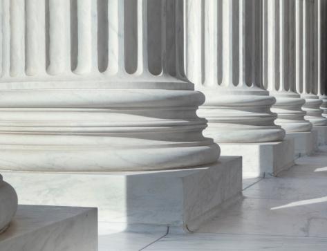 istock Column outside U.S. Supreme Court building 184917062