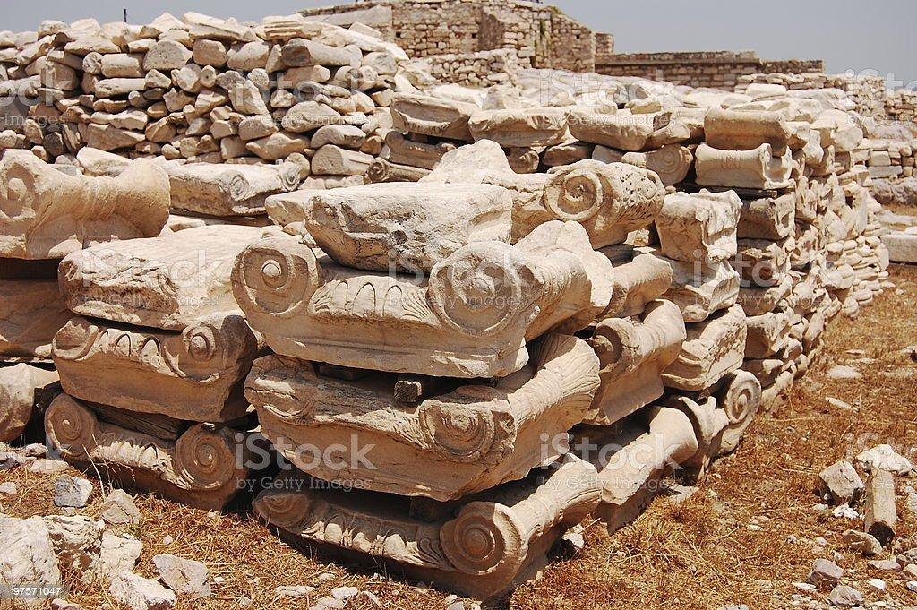 Column Parts royalty-free stock photo
