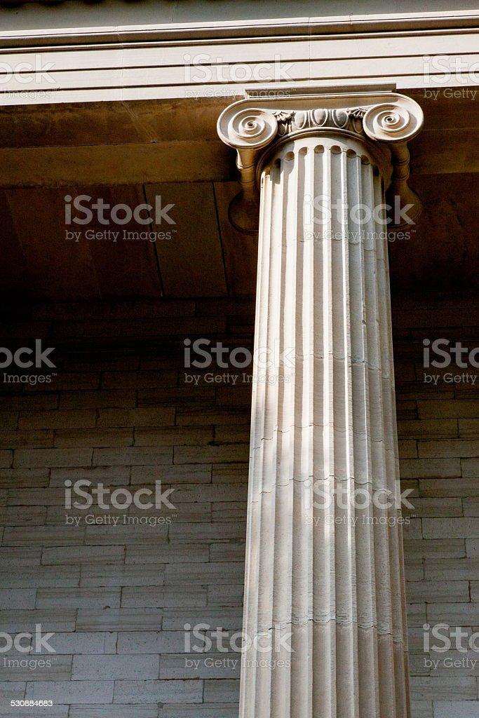 Column Portrait stock photo