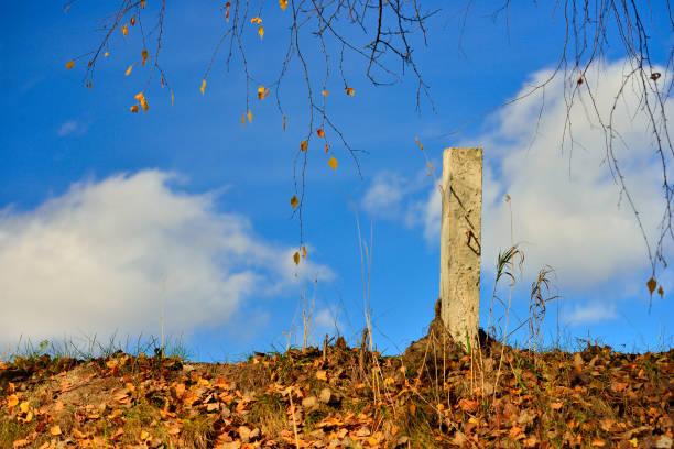 Cтоковое фото Column roadside