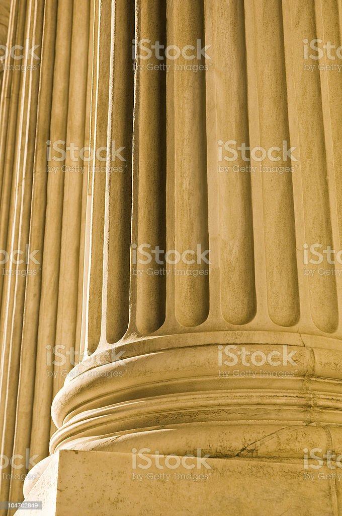 Columns 01 royalty-free stock photo