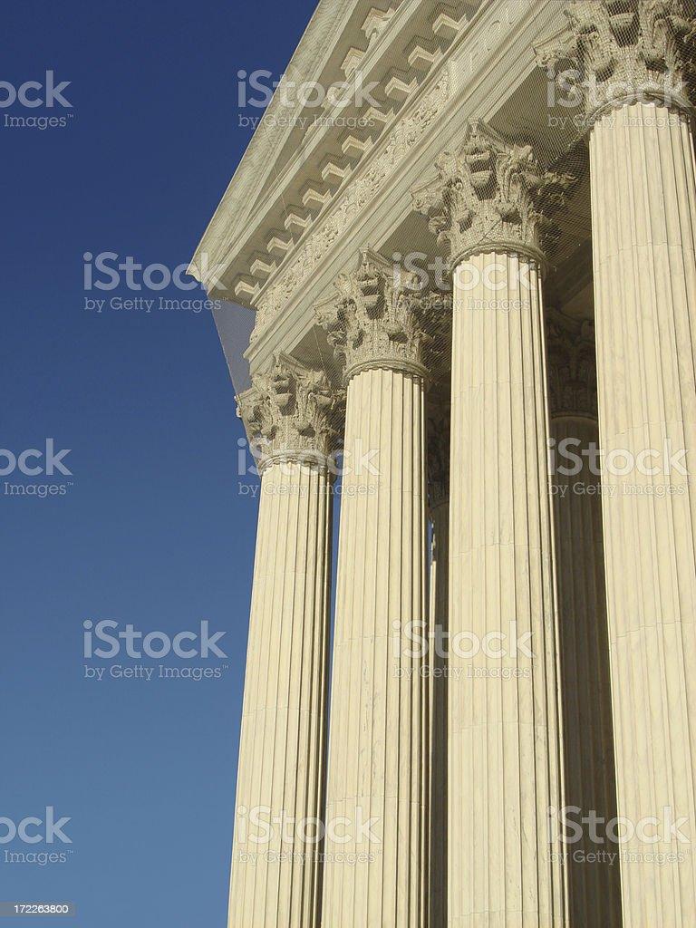 Columns 2 royalty-free stock photo