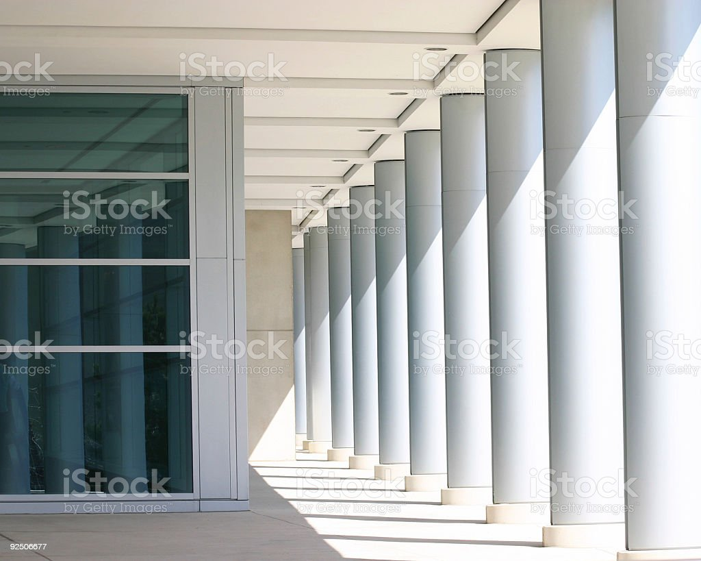columns 2 royalty-free stock photo