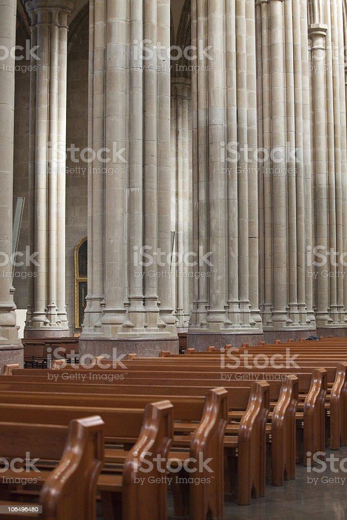 columns and banks royalty-free stock photo