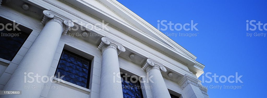 Columns and Windows royalty-free stock photo