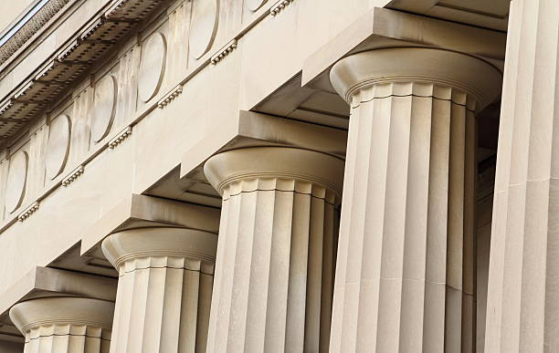 Columns, Angell Hall, University of Michigan