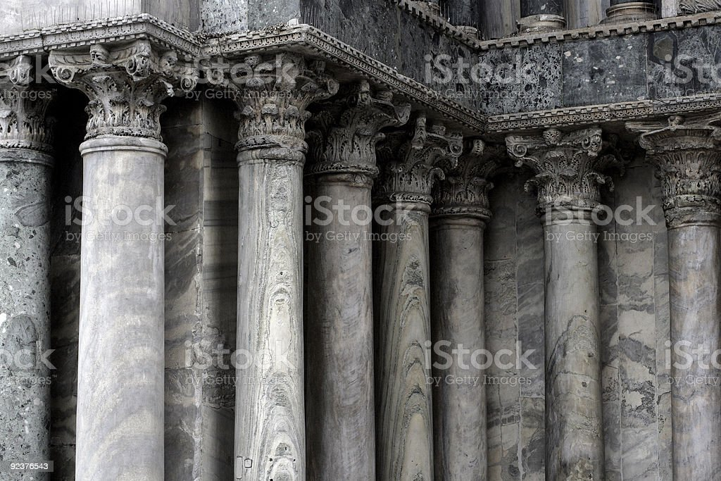 Columns from Venice royalty-free stock photo