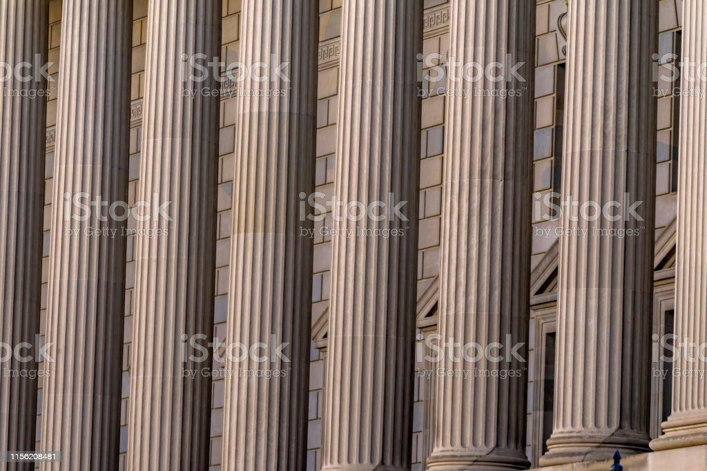 Columns Herbert Hoover Building Commerce Department 14th Street...