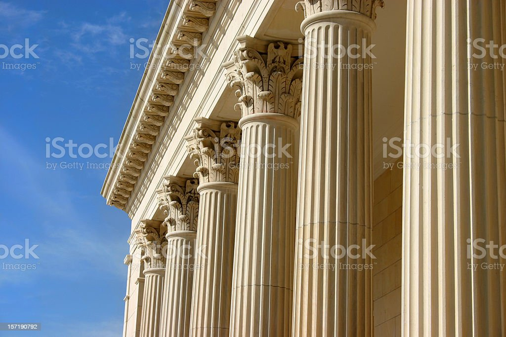 Columns in a Row royalty-free stock photo