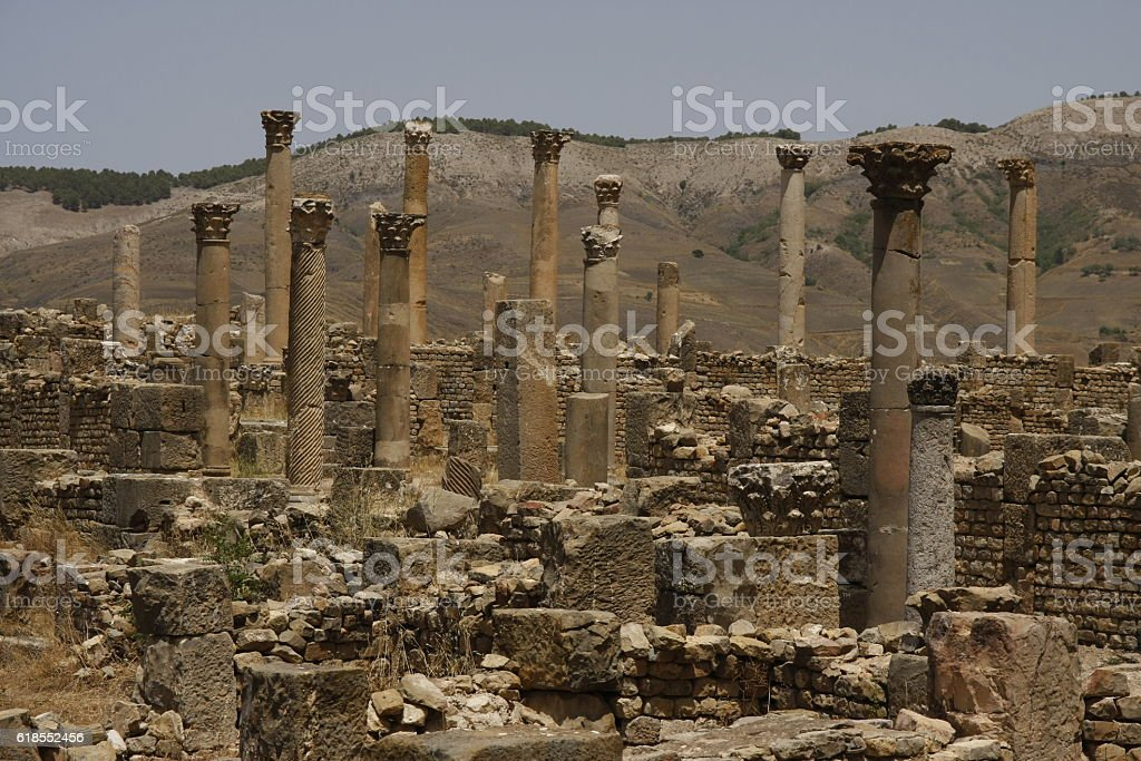 Columns of Djemila, Algeria - Photo