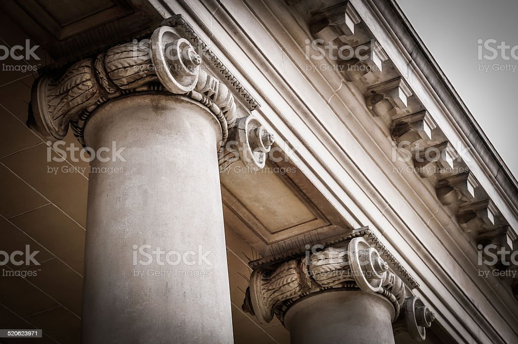 Columnas - foto de stock