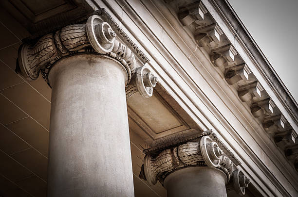 columns - classical style stock photos and pictures