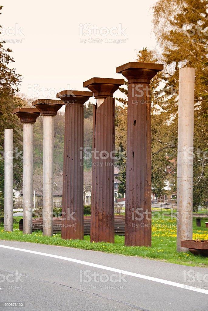 As colunas foto de stock royalty-free