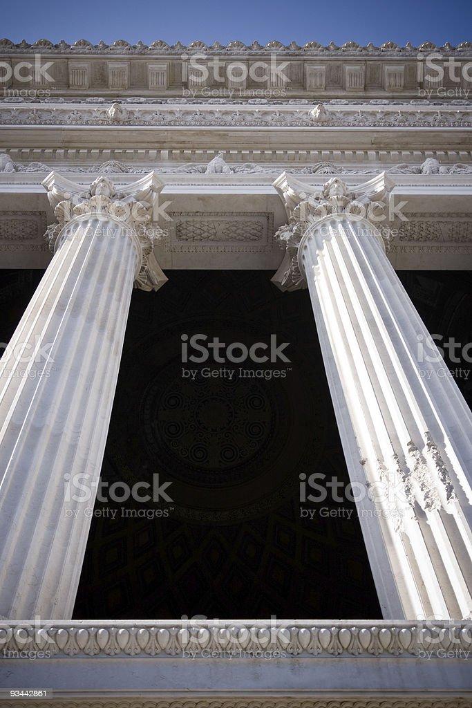 Spalten Lizenzfreies stock-foto