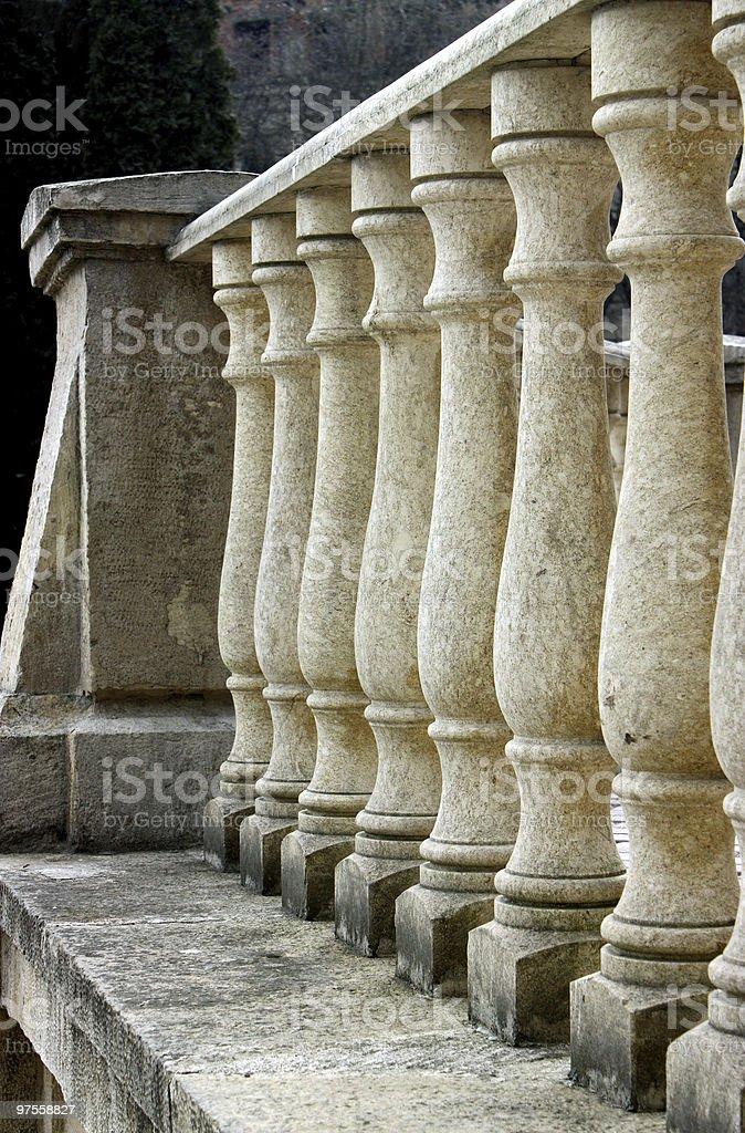 Des colonnes photo libre de droits