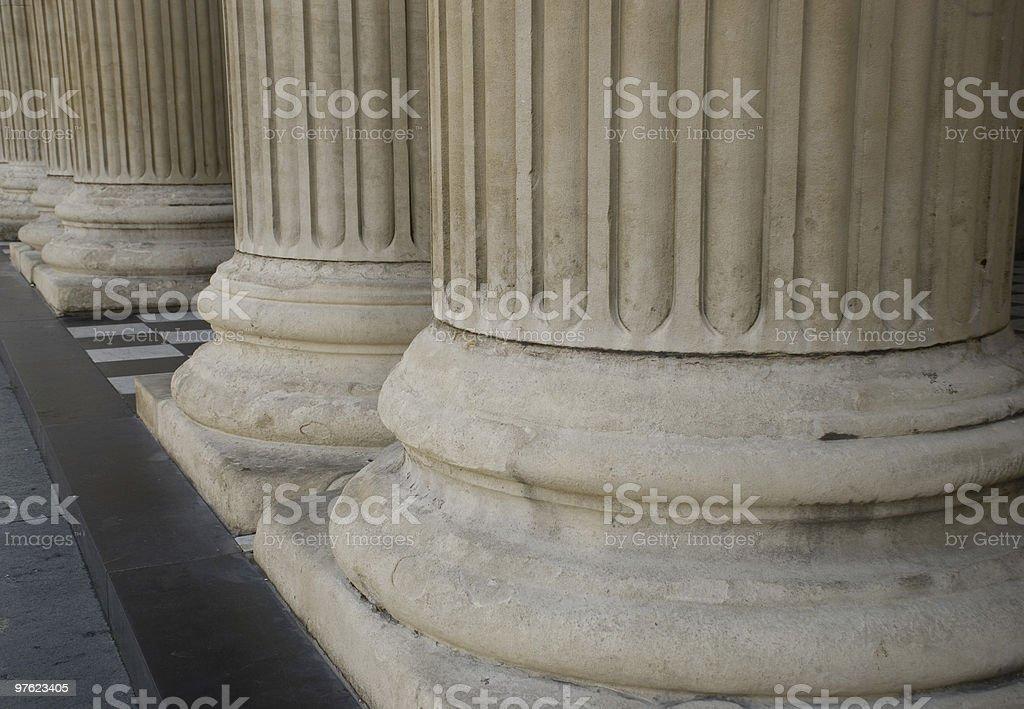 Columns royaltyfri bildbanksbilder