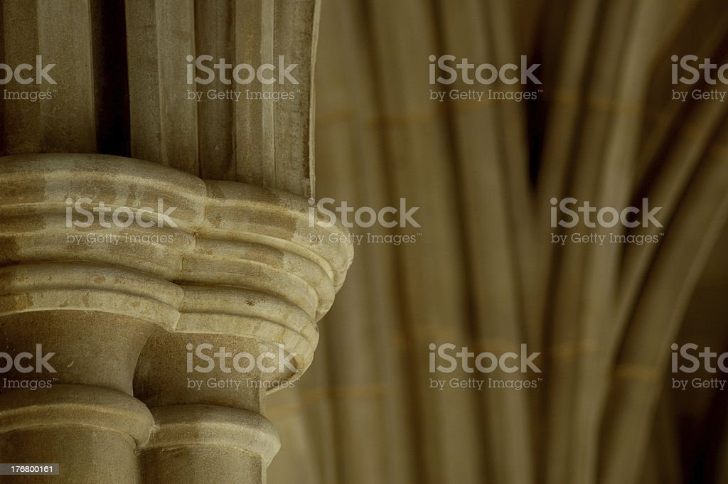 Columns with Arches. stock photo