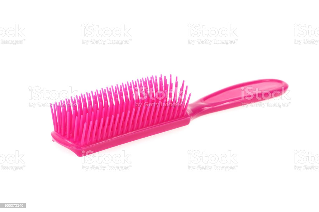 Comb brush, isolated on white - Royalty-free Beauty Stock Photo