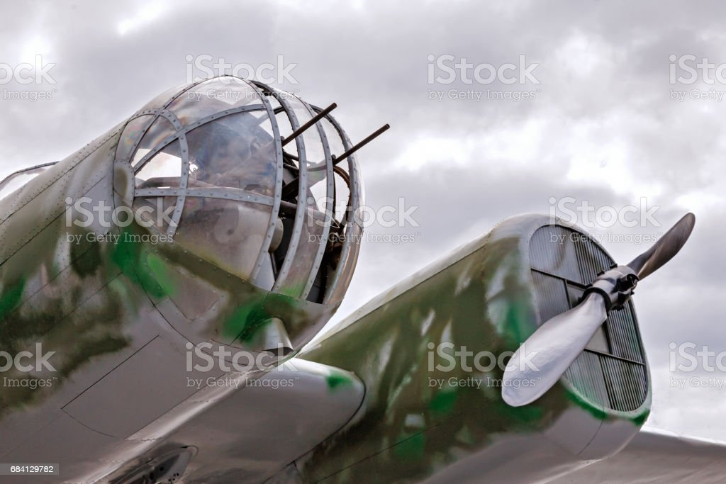 Combat aircraft foto stock royalty-free