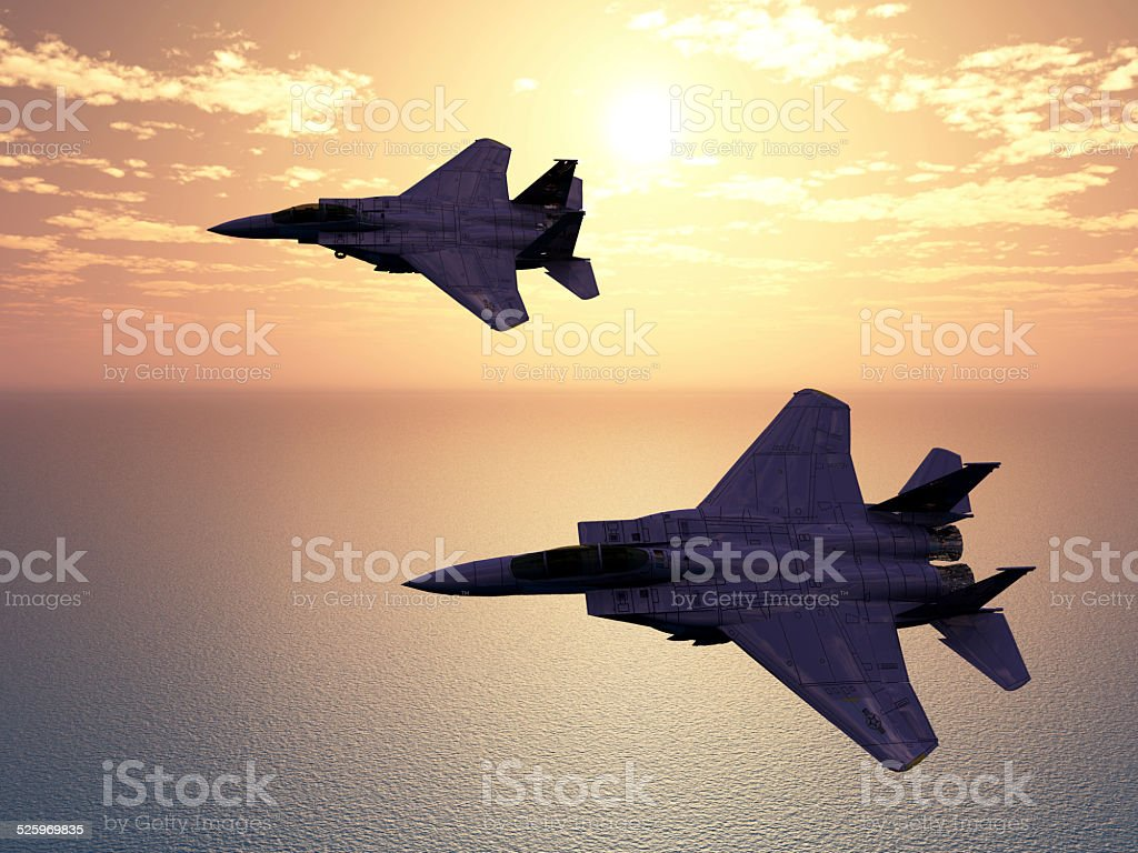 Combat Aircrafts stock photo