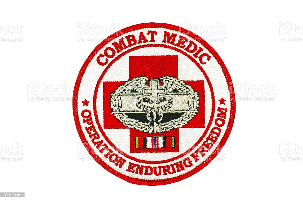 Combat Medic Military Patch Stock Photo More Pictures Of Armed