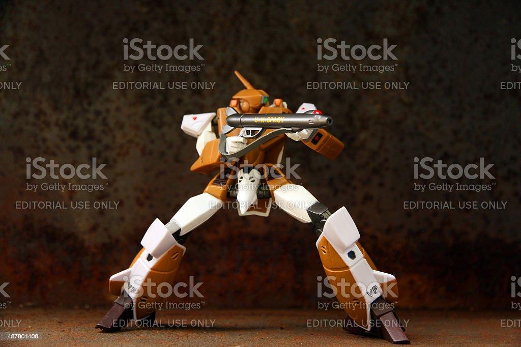 Combat Stance stock photo