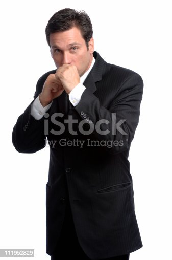 A businessman raises his fists in defense of true american values file_thumbview_approve.php?size=1&id=6734224