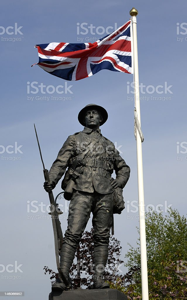 Comber War Memorial royalty-free stock photo